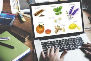 réalisation visuels web produits naturels plantes médicinales compléments alimentaires