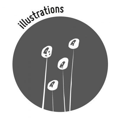 Création illustrations visuels web compléments alimentaires nutrition